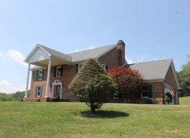 Stately Colonial in a Country Setting!