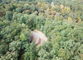PRIVATE CABIN ON 10 WOODED ACRES!